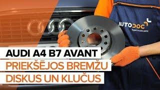 Audi Q5 8r apkope - video pamācības