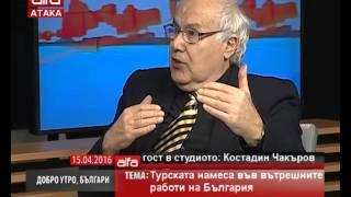 Турската намеса във вътрешните работи на България