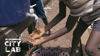 How Freetown, Sierra Leone Harvested Rainwater to Provide Hand-Washing Stations