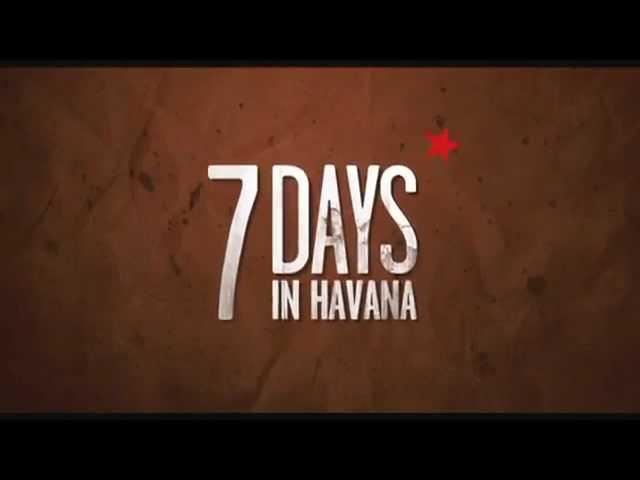 7 days in Havana - trailer italiano