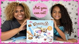 Chocolate Pen Candy Craft Skyrocket Toys ~ Artwork You Can Eat!