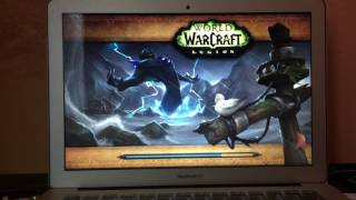 Can you play on MacBook Air?World of Warcraft - legion