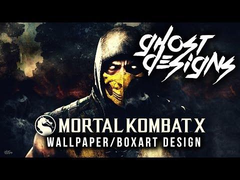 Mortal Kombat X Wallpaper/Boxart Design