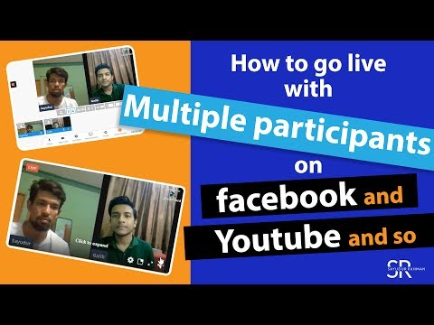 How To Go Live On Facebook With Multiple Participants From Stream Yard 2020