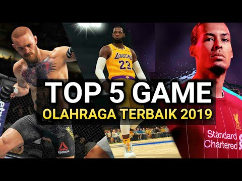 Top 5 Game Olahraga Terbaik Android 2019 - Offline & Online Best Graphics Full HD - 동영상