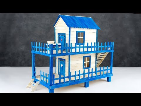 How to Make Popsicle Stick House for Hamster