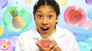 DIY Fruit Punch Flavor Bubbles!