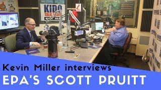 Kevin Miller Interviews EPA Administrator Scott Pruitt (June 5, 2018) thumbnail