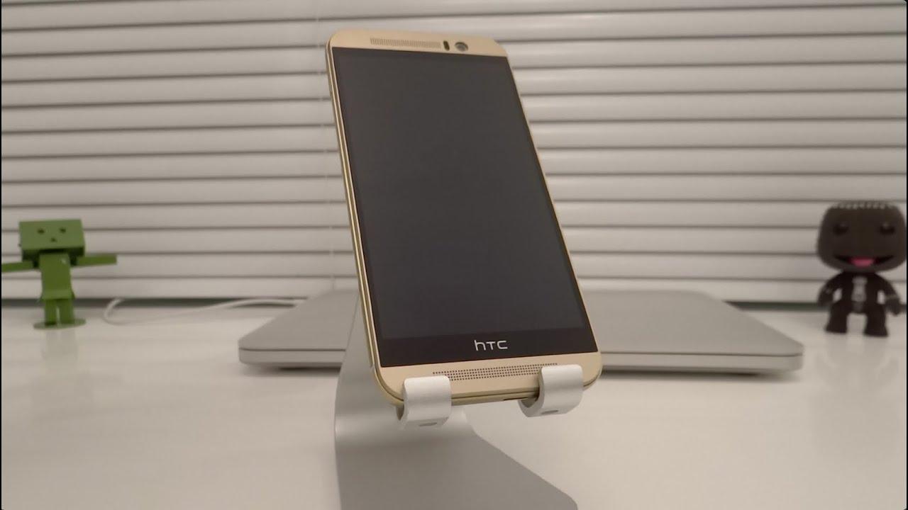 a11530dba فتح علبة Unboxing HTC one m9 Gold الذهبي - YouTube