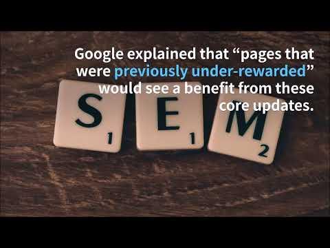 Google Rolls Out Core Search Algorithm Update