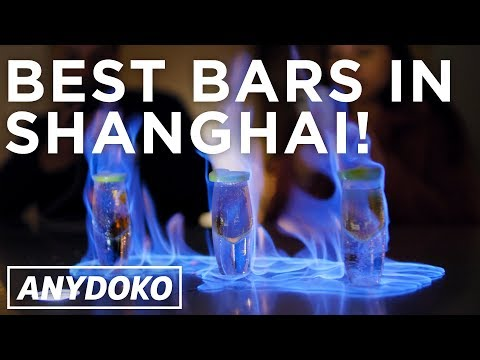 Shanghai's Best Bars! Drink in a jacuzzi on a rooftop!