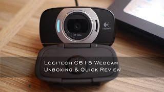 Logitech C615 Webcam Unboxing and Quick Review