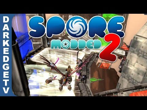 LP Modded Spore - TX-5000 Super Weapon, Super-Gravitonga, Restless Spirits and Star Slide! [S2E16]