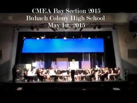 CMEA 2015| Rhythm of the Winds|Buhach Colony High School