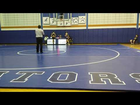Cole Willey Wrestling Seaford Middle School vs Dover Central 2019