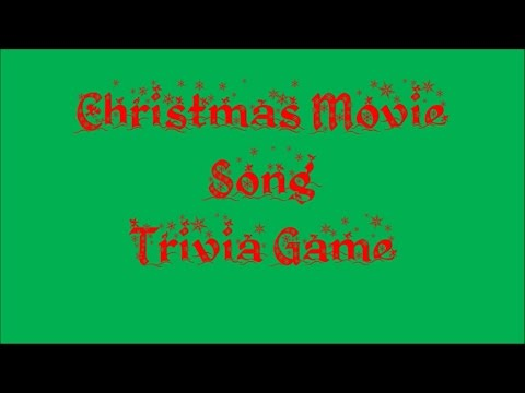 Christmas Movie Song Trivia Game