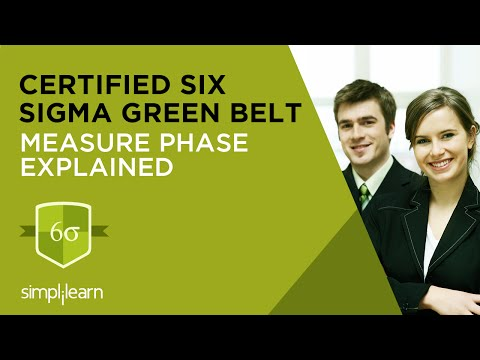 Measure Phase In Six Sigma | Six Sigma Training Videos