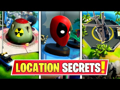 *NEW* SEASON 2 SECRET LOCATION CHANGES THAT *EVERYONE MISSED* IN FORTNITE! (Battle Royale)