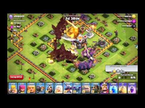 Clash of clans : Dünya birincisine saldırdım