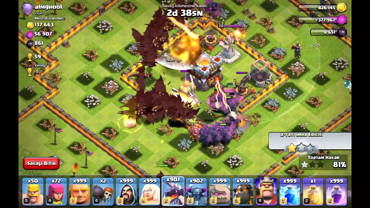 Clash Of Clans Attack The World First - YouTube Pictures Of Clans