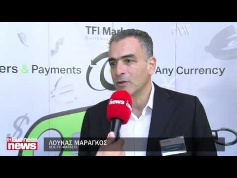 Loucas Marangos speaks at the 3rd Cyprus Fiduciary Association Forum