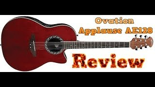 A look at the Ovation Applause AE128 Acoustic Electric Guitar