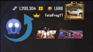 I Have Purchased 1.200.304,00 UC ? ? (I'M The King OF UC) ? - PUBG Mobile