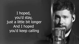 Calum Scott - Come Back Home (Lyrics)