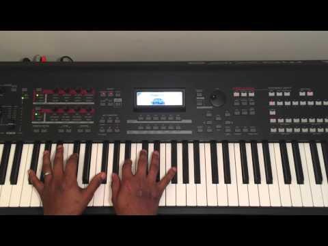 Imela (Nathaniel Bassey) - piano tutorial