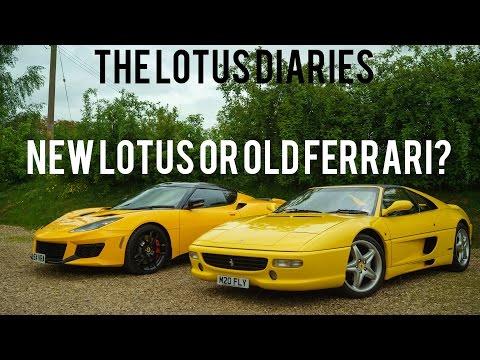 JayEmm's Lotus Diary: Evora 400 vs Ferrari F355 (UHD)