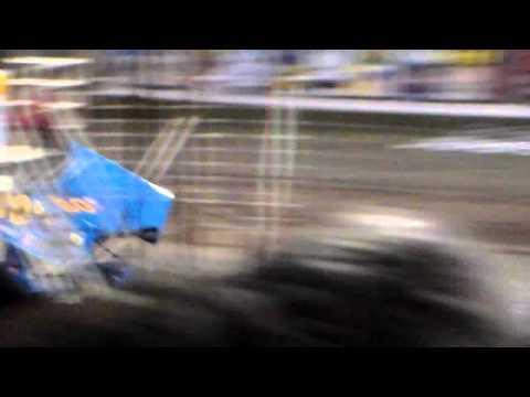 River Cities Speedway NOSA Sprint Car A-Main (9/11/15)
