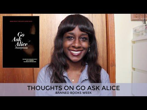 Banned books go ask alice