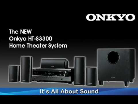 onkyo ht s3300 youtube rh youtube com Onkyo 5.1 Home Theater System Onkyo 5.1 Receiver Review