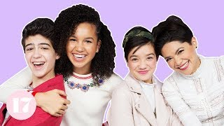 the andi mack cast plays the ultimate 90s trivia quiz challenge