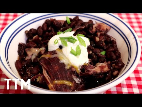 Black Beans And Chicken Instant Pot Recipe~Easy Cooking