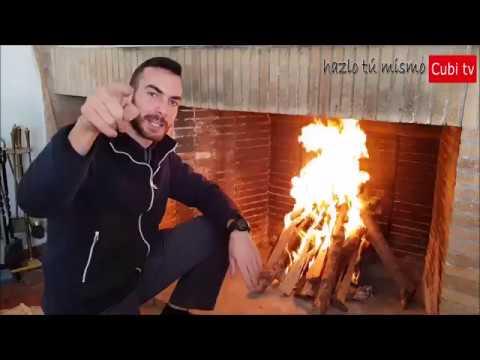 C mo encender la chimenea doovi - Como encender la calefaccion ...