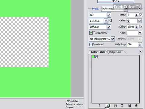 Can I make something transparent on photoshop CS3?