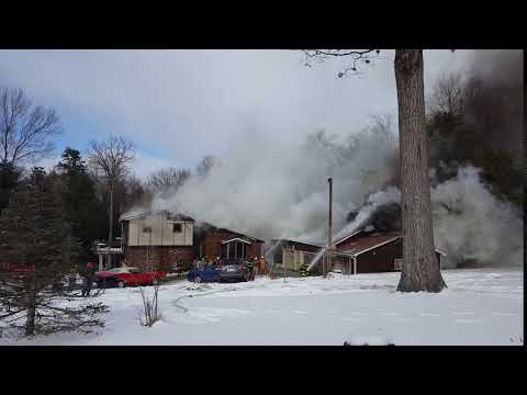 Structure Fire in Sigel, Pa.