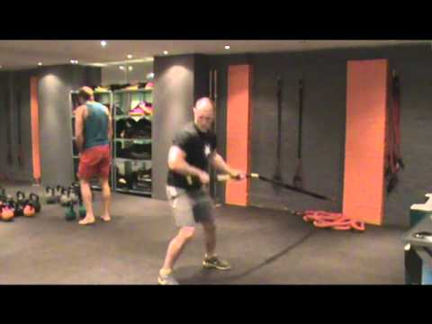 Rugby Caveman Conditioning Workout: James Haskell (Feb 2012)