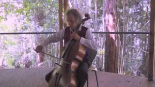 "Blue Mountains Rainforest Sonata (3) for cello solo ""Mist - Storm - Sunshine"""