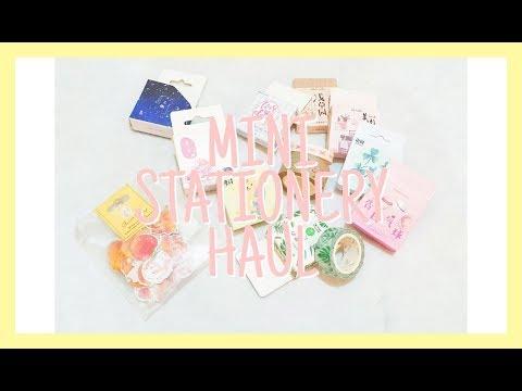 Mini Stationery Haul 🖌🐥 (Indonesia) + PENGUMUMAN GIVEAWAY !! 🎉 || LessyaJ