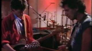 Rolling Stones recording in Montserrat 1989
