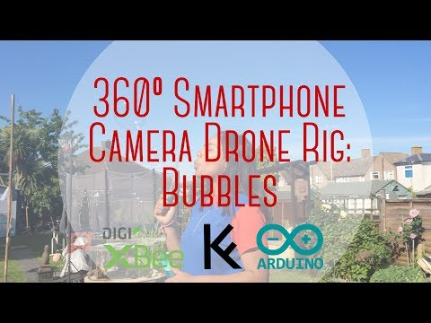 360º Smartphone Camera Drone Rig: Bubbles | KFERNANDESIGN