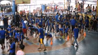 NBA stars in Tondo, Manila, for Project PEARLS and NBA Cares