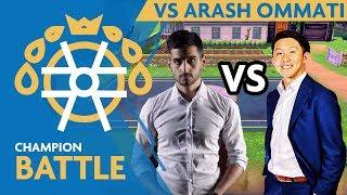 Champion Battles vs. 2013 World Champ Arash Ommati & Pikachu!