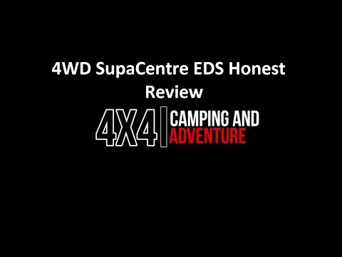 4wd Supacentre EDS Data Scan Honest Review