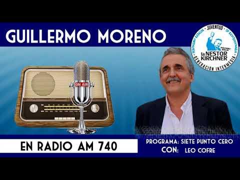 Guillermo Moreno en AM 740 Radio Rebelde 28/12/17