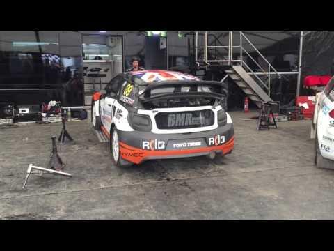 Warren Scott (Owner of Team BMR) at Lydden Hill British Rally X/Cross