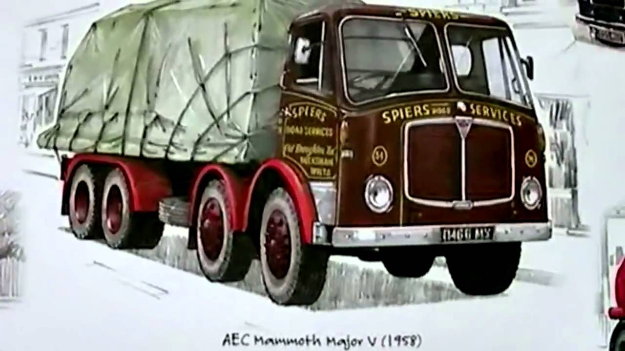 ▷ OLD LORRIES - Previously Unseen - 22 Makes of LORRY at WORK ...