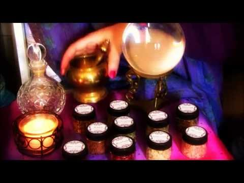 Witch Cupboard Herbs Magick Properties and Uses (ASMR)